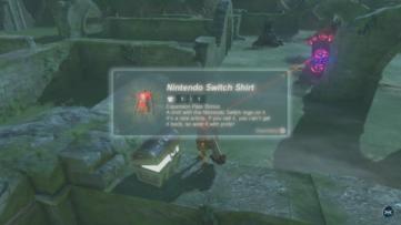 T-shirt Link Switch dans le season Pass de Zelda Breath of the Wild